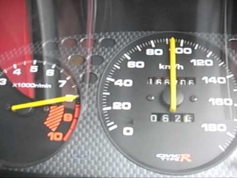 Honda Civic Type R 0-100 ek9