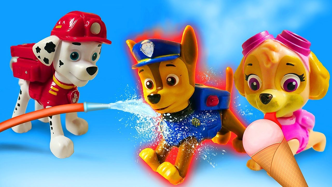 Paw Patrol Mighty Pups & Ultimate Rescue Episodes - Chase needs help