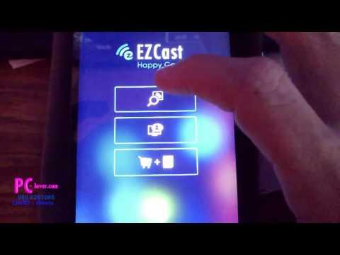 รีวิว EZcast wifi display อุปกรณ์เสริมช่วยนำภาพจากมือถือ,แท็เล็ต ไปเล่นบนจอทีวีใหญ่ ๆ