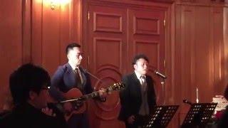 かりゆし58 アンマー 結婚式余興 ギター演奏