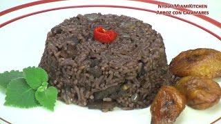 Arroz con Calamares - Squid Rice - Cuban/Puerto Rican