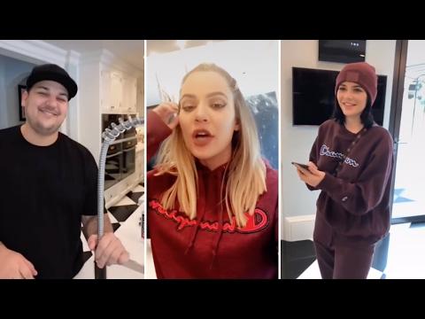 Khloe Kardashian | Snapchat Videos | February 2017 | ft Rob Kardashian, Kendall Jenner & Kim