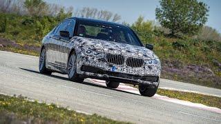 Тест драйв BMW 7 Series.  Новинки авто 2016