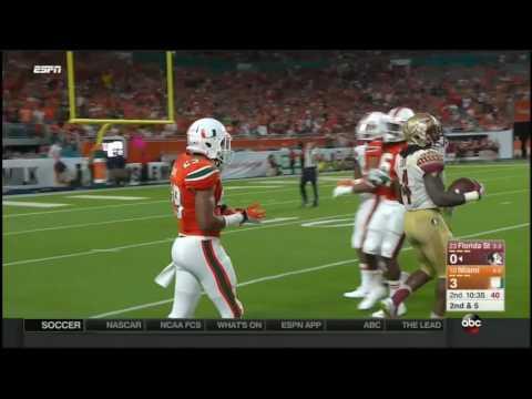 Florida State Seminoles at Miami Hurricanes in 30 Minutes - 10/8/16