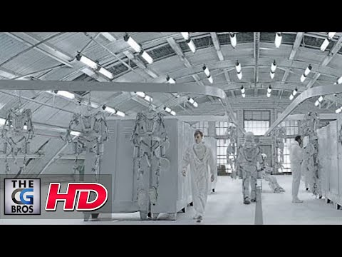 "CGI VFX Spot : ""Human Dome Painter"" - by Glassworks VFX"