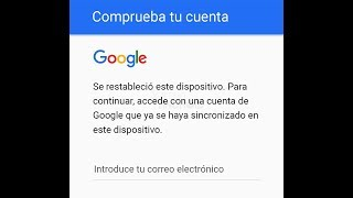 Como eliminar cuenta de google en un Alcatel Pixi 4 con android 6.0  2017