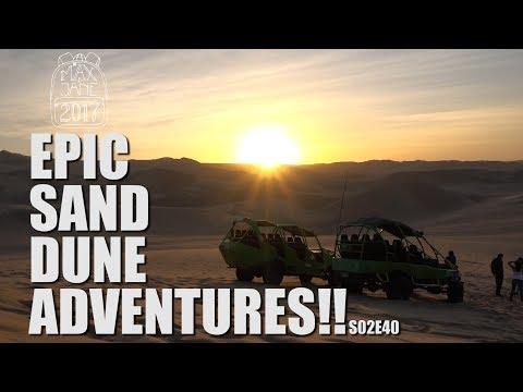 Huacachina, Peru | The best town in Peru! | South America Travel Vlog E40