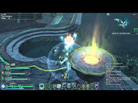 Phantasy Star Online 2 - Planet Vopar - Coast - Seabed Exploration - Ark Quest - Normal - 2nd Run