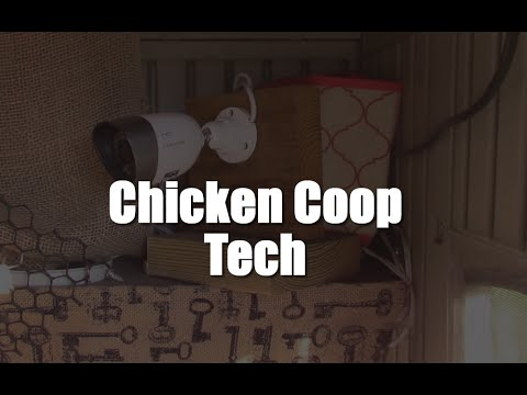 High Tech Chicken Coop