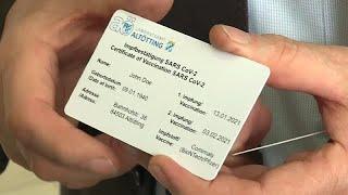 """""""Passeport vaccinal"""" : en Bavière, il existe déjà !"""