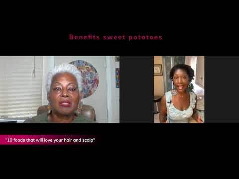 Benefits of sweet potatoes - Chef Angelia & Sheila
