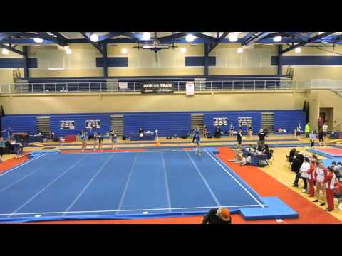 Emily Carey - Northeast Gymnastics Academy - Floor - 2016 Pennsylvania State Championships