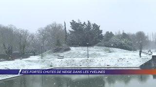 Yvelines | Des fortes chutes de neige à Saint-Quentin-en-Yvelines