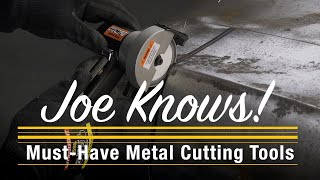 The BEST Options for Cutting Metal in YOUR Home Shop: Joe Knows! Eastwood