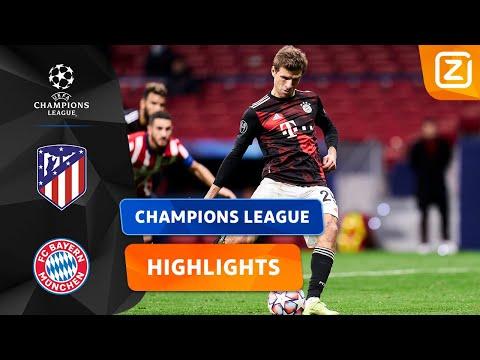 PENALTY IN DE LAATSTE MINUTEN! 🎯   Atlético Vs Bayern   Champions League 2020/21   Samenvatting