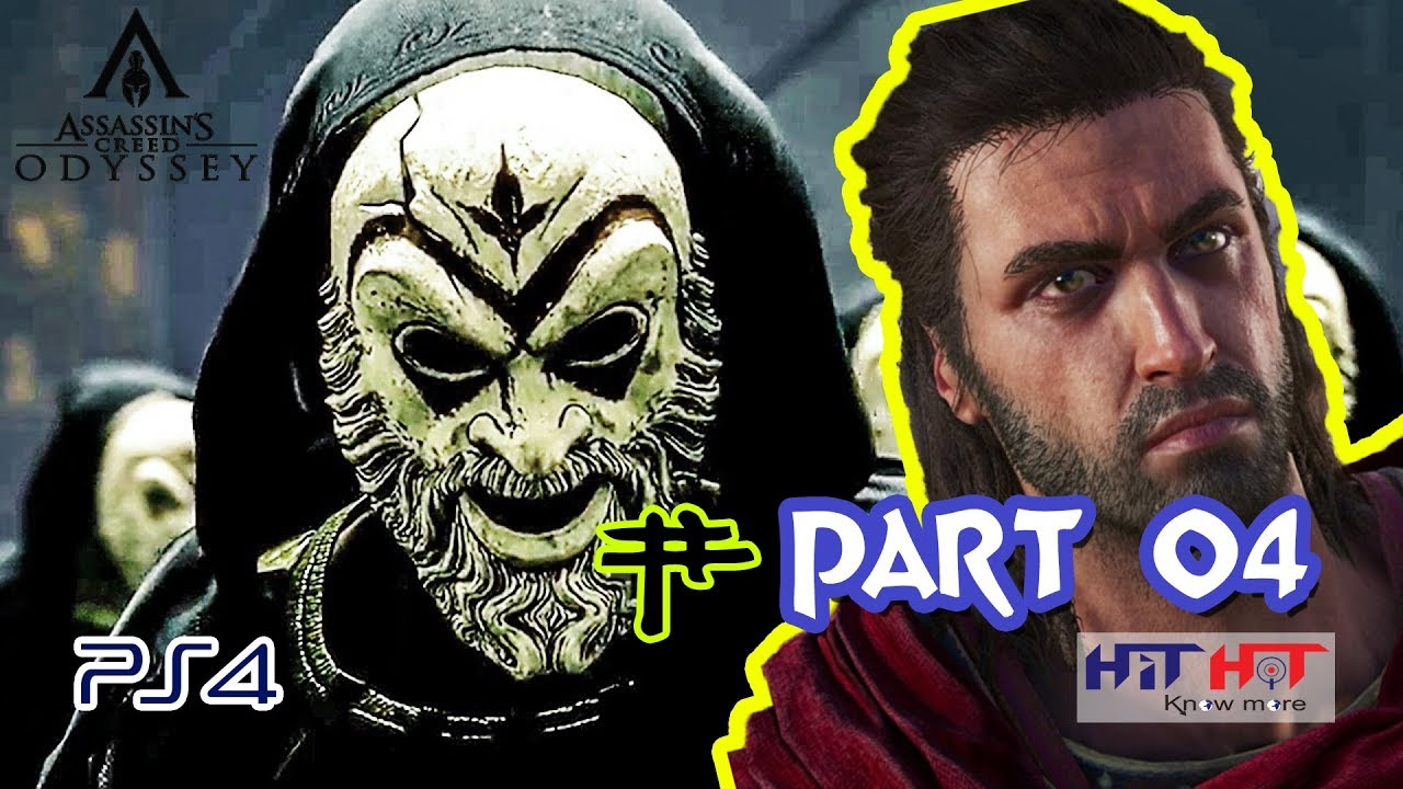 Assassin S Creed Ac Odyssey Walkthrough Gameplay Part 4 By Hit