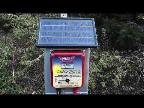 My Solar Electric Fence Setup