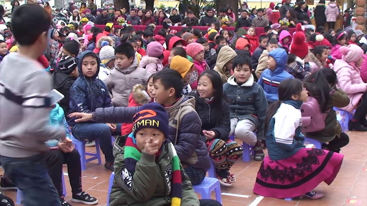 Chương trình tổ chức hoạt động trải nghiệm cho học sinh tại Trường Tiểu học thị trấn Hát Lót với chủ đề: Hội chợ xuân
