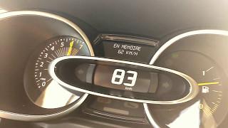 Renault Clio 4 tce GT line France acceleration 0-100 moteur rodé