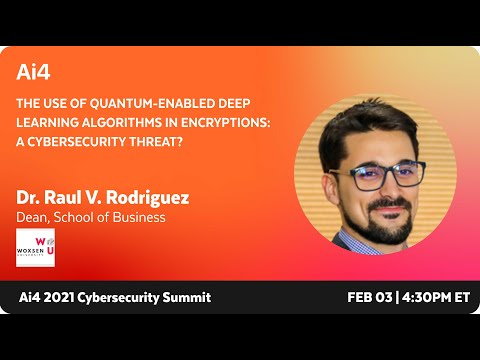 The Use of Quantum-Enabled Deep Learning Algorithms in Encryptions: A Cybersecurity Threat?