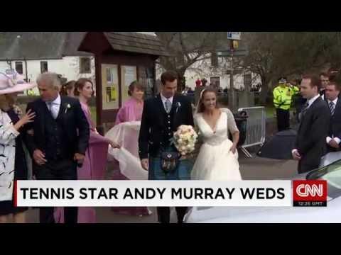Tennis Champion Andy Murray marries Kim Sears