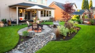 Ландшафтный дизайн двора частного дома – фото лучших проектов(, 2016-02-03T16:11:34.000Z)
