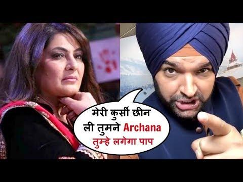Kapil Sharma As Sidhu Makes FUN Of Archana Puran Singh In The Kapil Sharma Show