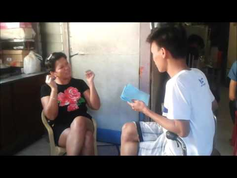 Interview about Jose P. Rizal (Group 4)