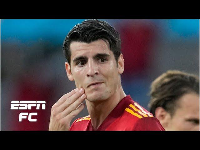 Should Alvaro Morata take the blame for Spain's 0-0 draw vs. Sweden? | Euro 2020 |  ESPN FC