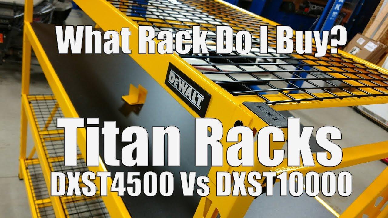 13abed4ba6a DEWALT Titan Garage Storage Racks