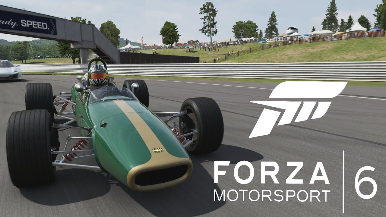 FORZA 6 GAMEPLAY - Brabham BT24 F1 Car Gameplay - YouTube