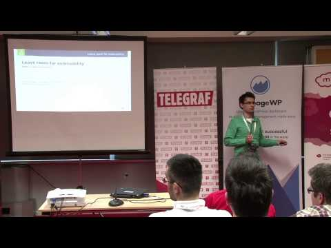 Marius Veltan - Writing WordPress code that's universal