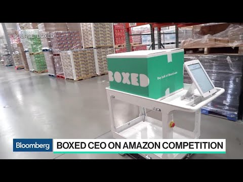 Boxed CEO Reacts to Amazon Testing a Delivery Service