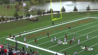 Ohio Northern Football vs Marietta 2013