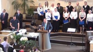 Праздничное Богослужение 110 лет Гомельской церкви Евангельских Христиан Баптистов