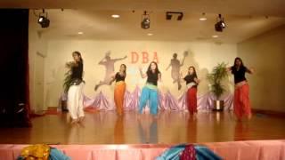 Choli ke peeche, Radha on the dance floor, Ainvayi ainvayi and Chikni chameli
