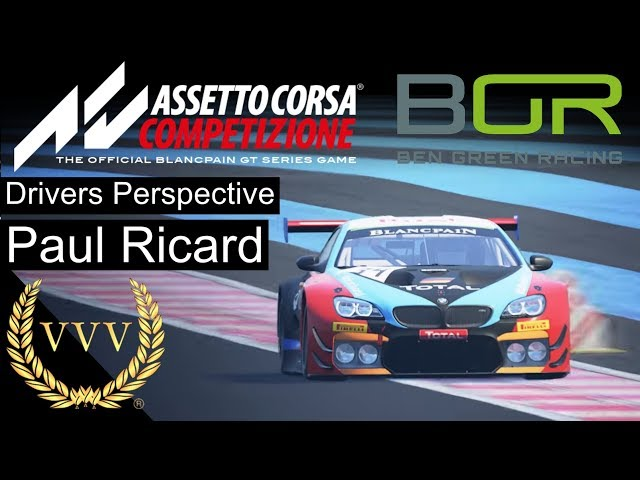 Assetto Corsa Competizione, Race at Paul Ricard - Ben Green Racing