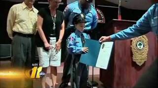 8 YEAR OLD POLICE OFFICER LAID TO REST