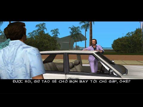 GTA Vice City Việt Hóa #1 - Tommy Lần đầu đến Thành Phố   ND Gaming