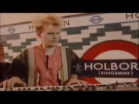 Howard Jones - New Song (HD) (1983) (Official Video)
