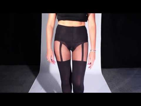 Pretty Polly Shape it Up Suspender Tights