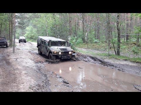 Peckfitz 2017 Himmelfahrt Ural, BMP, KRAZ und W50 im Schlamm