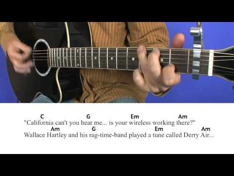 12.1 The Titanic - Cover - Lesson - Paddy goes to Holyhead - Lyrics - Chords