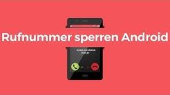 Rufnummer sperren am Android Handy | SIM-Karte-gratis.de
