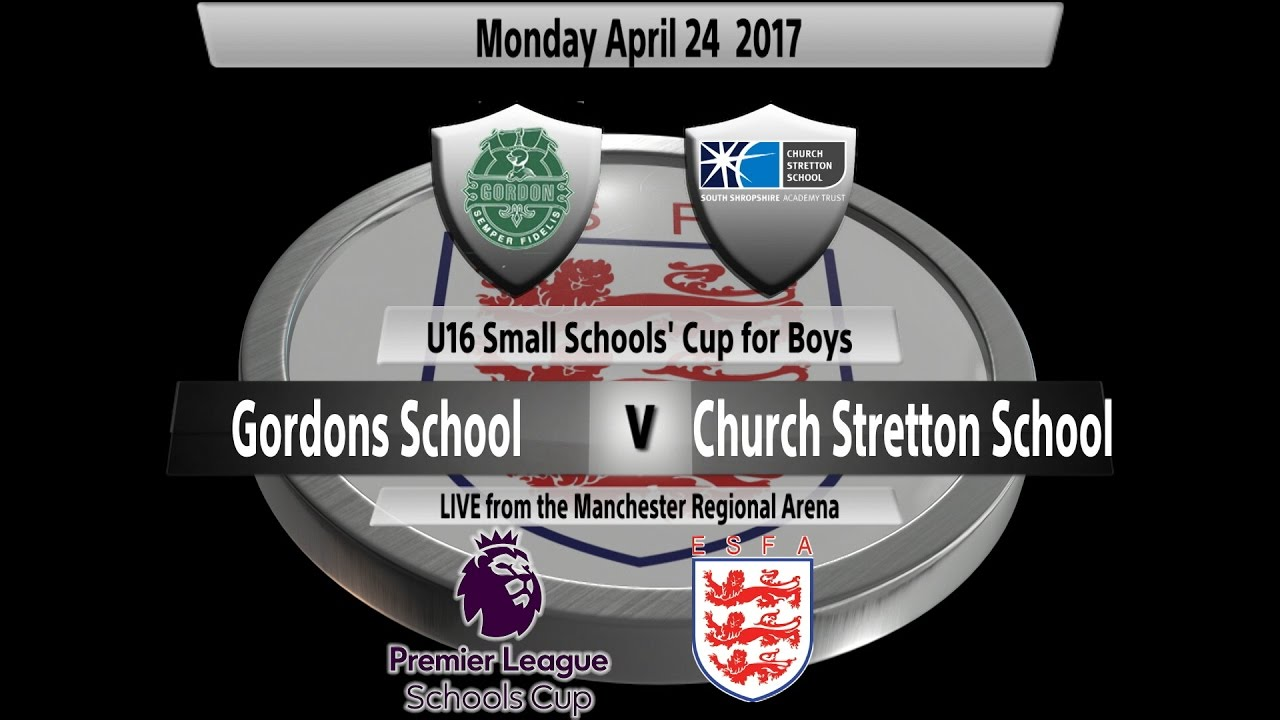 KO: 4.15 Premier League U16 Small Schools' Cup for Boys ...