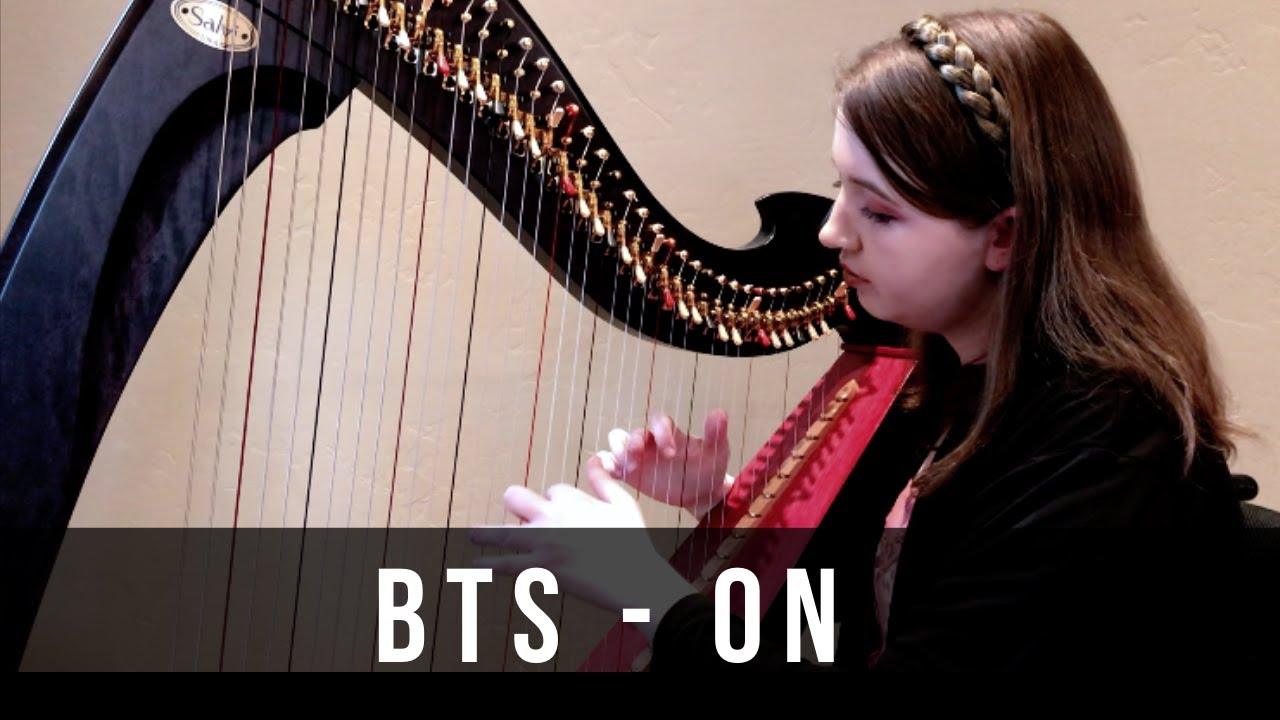 BTS (방탄소년단) - ON (Harp Cover by Arianna Worthen)