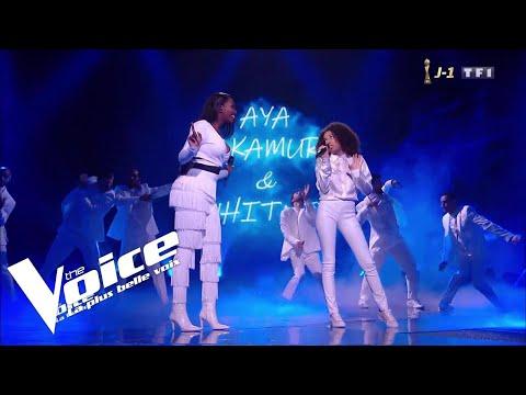 Aya Nakamura et Whitney - Djaja | Whitney | The Voice 2019 | Final