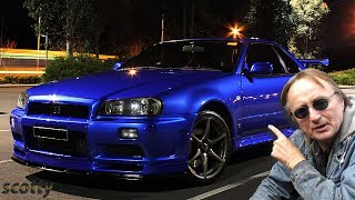 Here'S What A Nissan Skyline Looks Like At Night Vs A Mitsubishi 3000gt Vr4