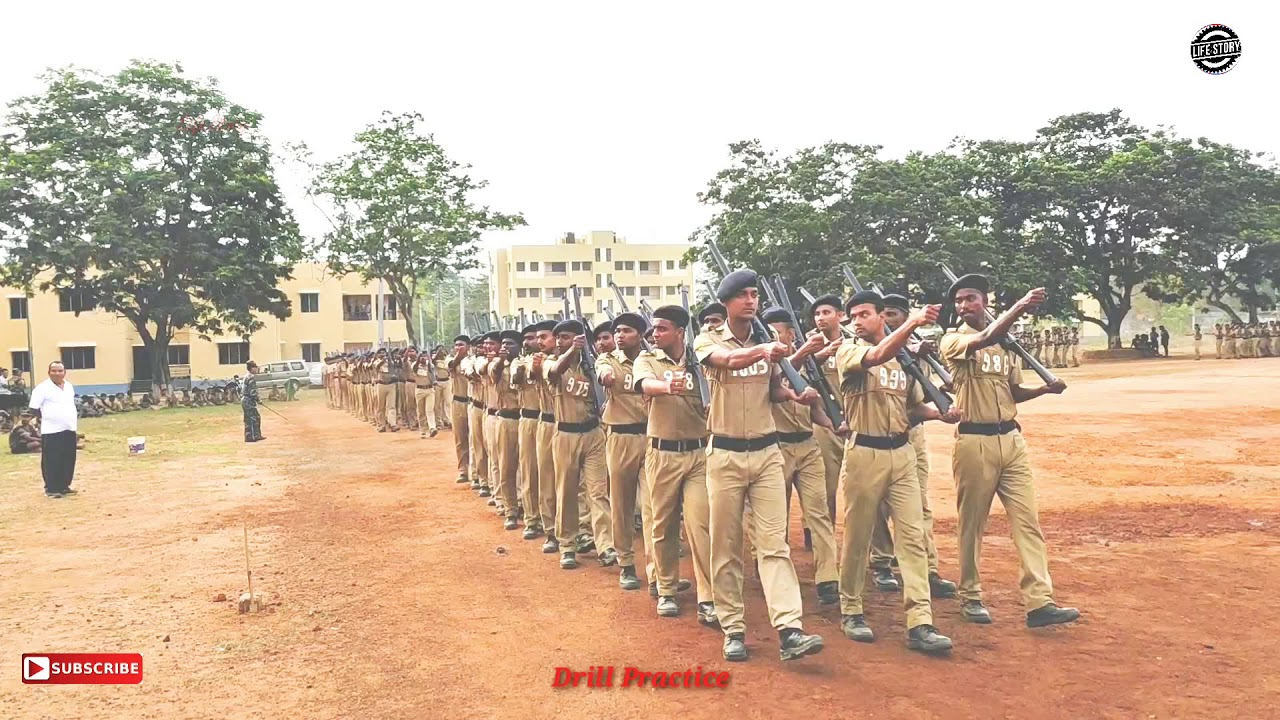 West Bengal Police Passing Out Parade Drill Practice 2020