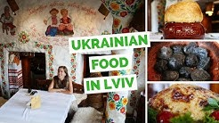Ukrainian Food Review - 5 traditional dishes to eat in Lviv, Ukraine